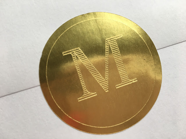 Example of foil sticker
