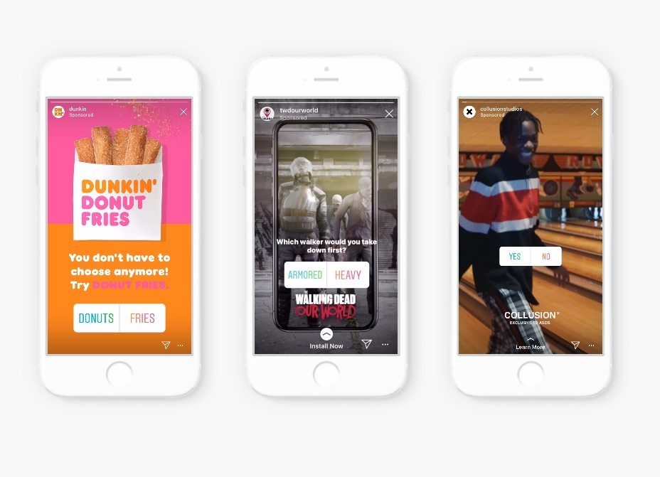 Brands Can Now Add Poll Sticker to Instagram Stories Ads