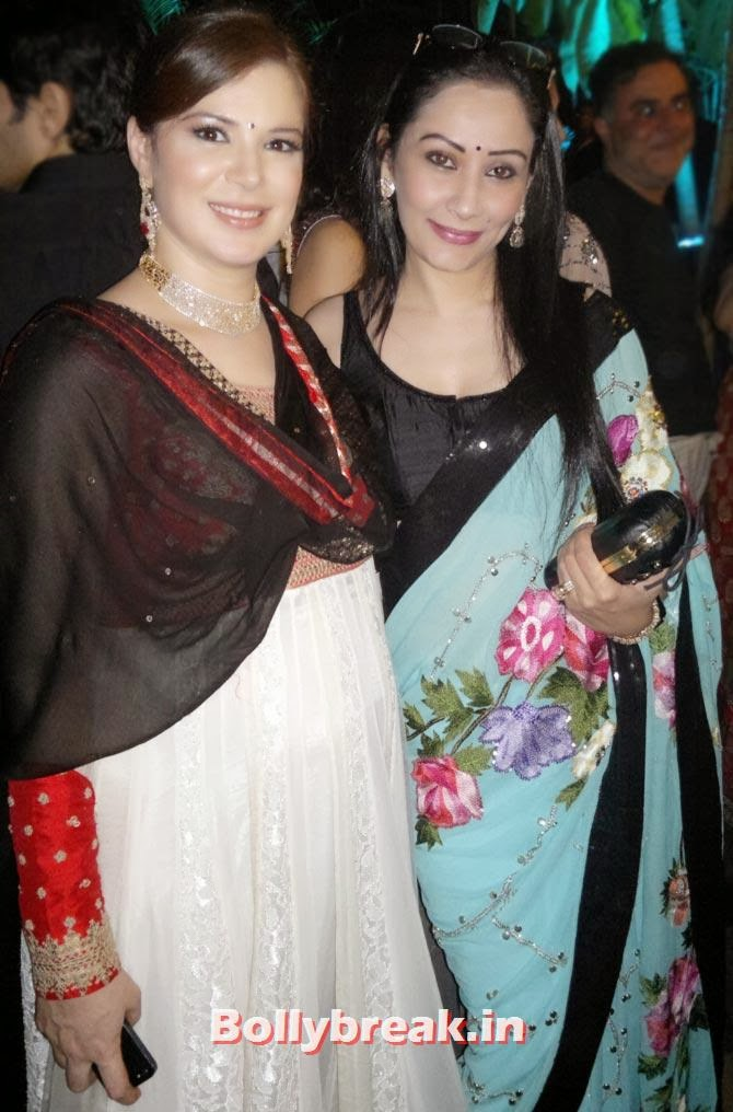 Urvashi Sharma and Manyata Dutt, Sachiin Joshi and Urvashi Sharma's Diwali Party