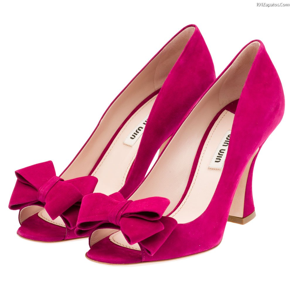 Vistoso Zapatos De Vestir De Color Púrpura Para Bodas Componente ...
