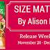Release Blitz and Giveaway: Size Matters: Alison Bliss