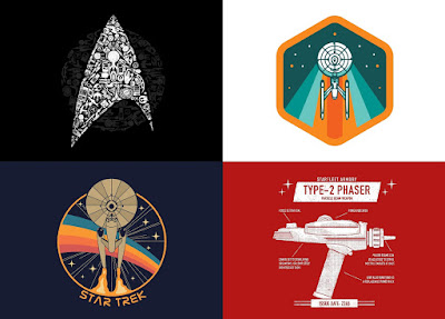 Star Trek T-Shirt Collection by Threadless