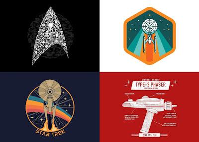 Star Trek T-Shirt Collection by Threadless