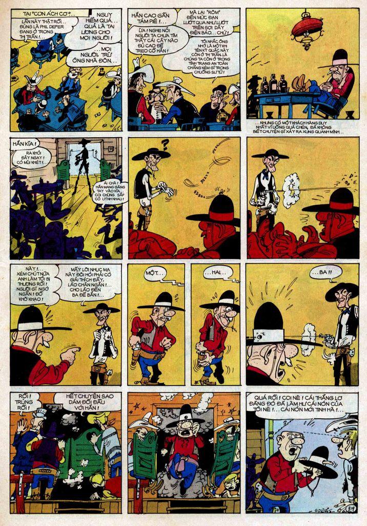 Lucky Luke tập 25 - nhện chân dài trang 19