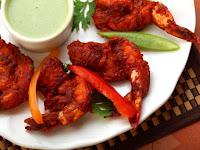 Resep Masakan Enak Udang Koliwada dengan Mint Chutney