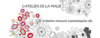 l'atelier de la malie, blog, blogueuse, nantes, bannière, la perle des loisirs