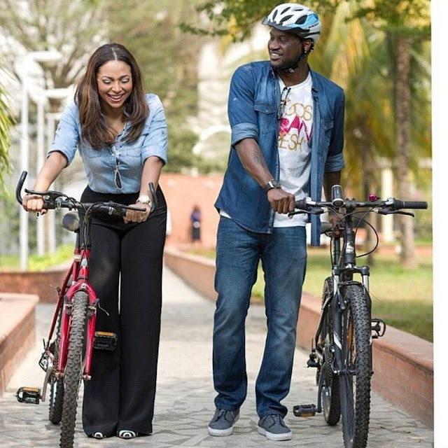 Peter Okoye & Lola Omotayo