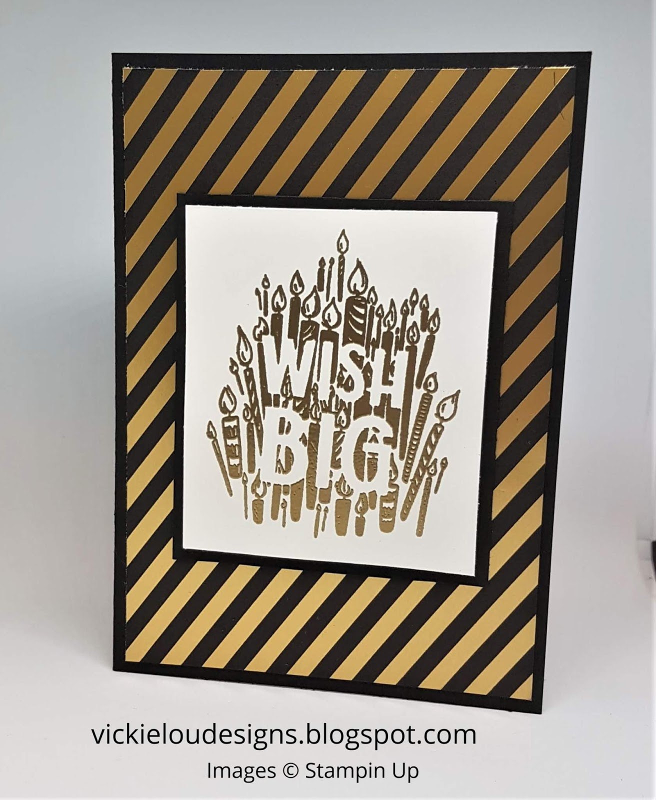 Vickie Lou Designs Big Wishes Broadway Bound Birthday Card