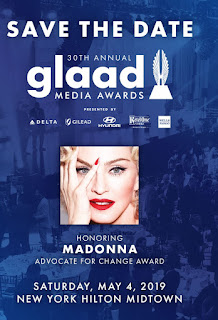 Madonna Will Receive Lifetime Achievement Award At 2019 GLAAD Awards