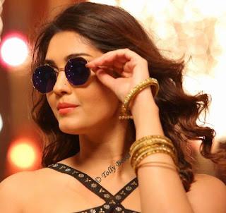 Tollywood Actress Surbhi Beautiful Earring Face Closeup Pictures (8)