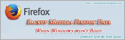 Mozilla Firefox Data Backup