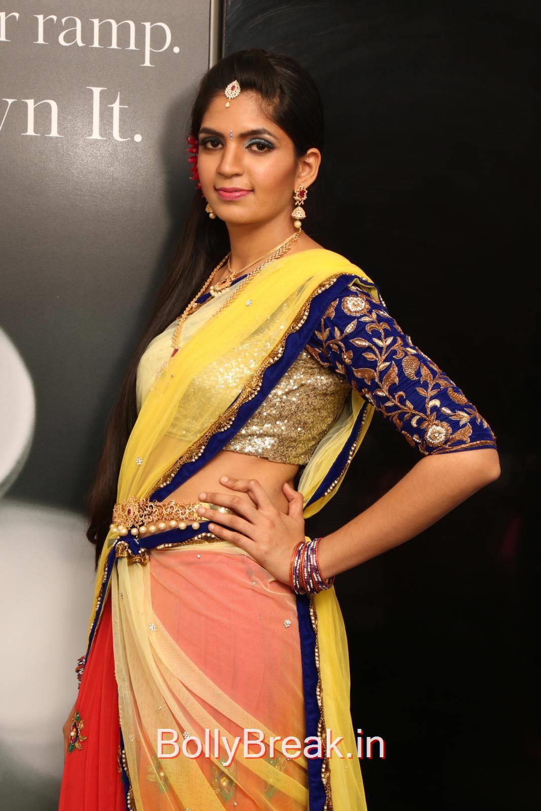 Telugu Actress Anusha, Anusha Hot Pics from Bridal Dream Make up At Lakme Salon