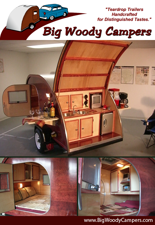Big Woody Retro Teardrop Trailers
