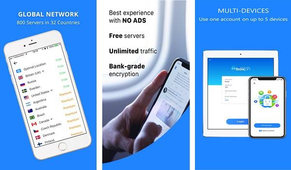 تحميل تطبيق Boxpn 2020 افضل VPN مجاني