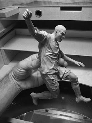 Escultura  hiperrealista