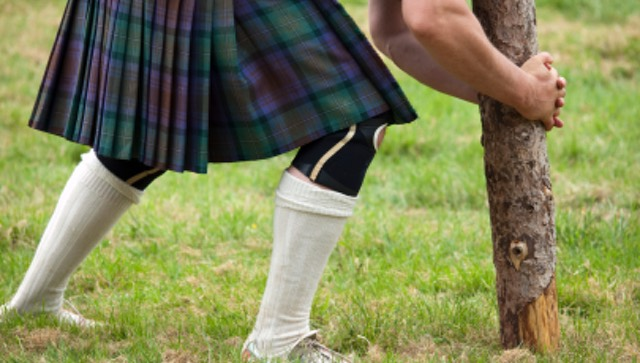 Toss the Caber