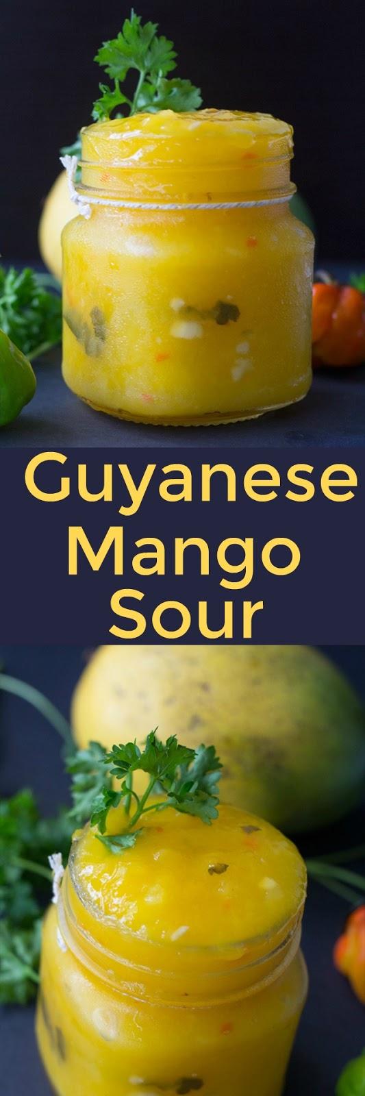 Guyanese Mango Chutney