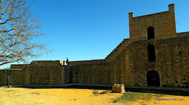 Porta de La Xijara, nas muralhas de Ronda