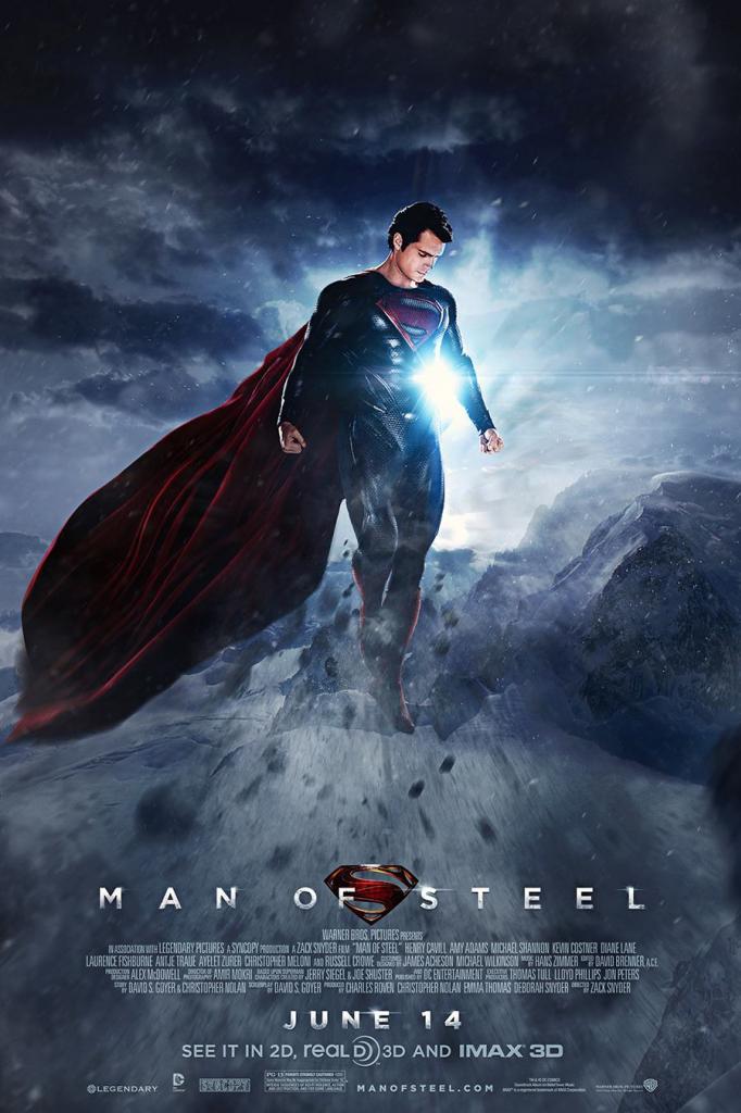 O Homem de Aço (Man of Steel) (2013)  Dublado - Torrent