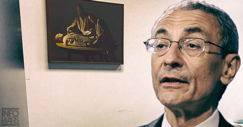 john podesta office human cannibalism pizzagate image