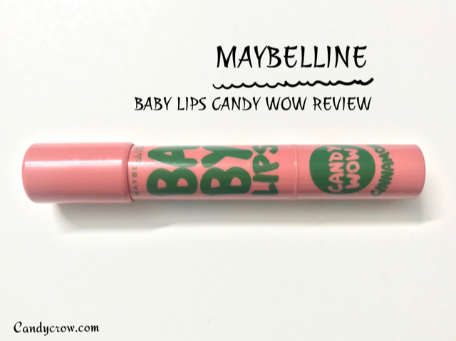 Maybelline Baby Lips Candy Wow- Cinnamon Review