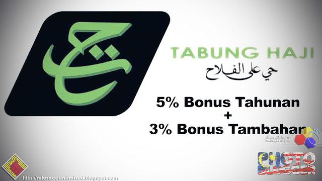 Tabung Haji Umum Bonus Tahunan 5 Peratus Dan Tambahan Bonus 3 Peratus.  KUALA LUMPUR aed247d9ab