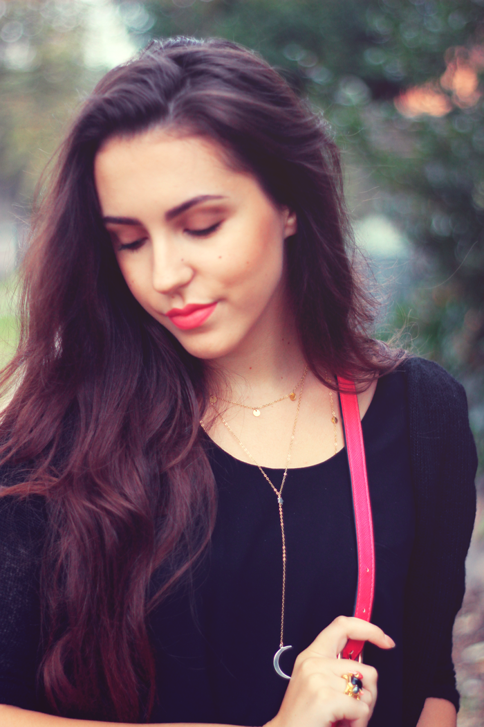 black and pink outfit aimerose blog rasa virviciute