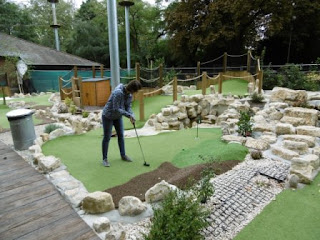 Putt In The Park Mini Golf course at Battersea Park in London