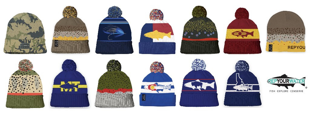 d892051aa1866 Rep Your Water has released a line up of Knit Hats with a few favorites  mixed in with some fresh new looks.