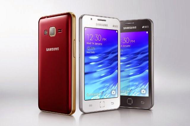 Samsung Z1 Ponsel Tizen dengan Harga Sangat Murah