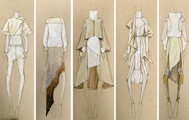 Btec Art Blog Fashion Illustration Preparing For Making