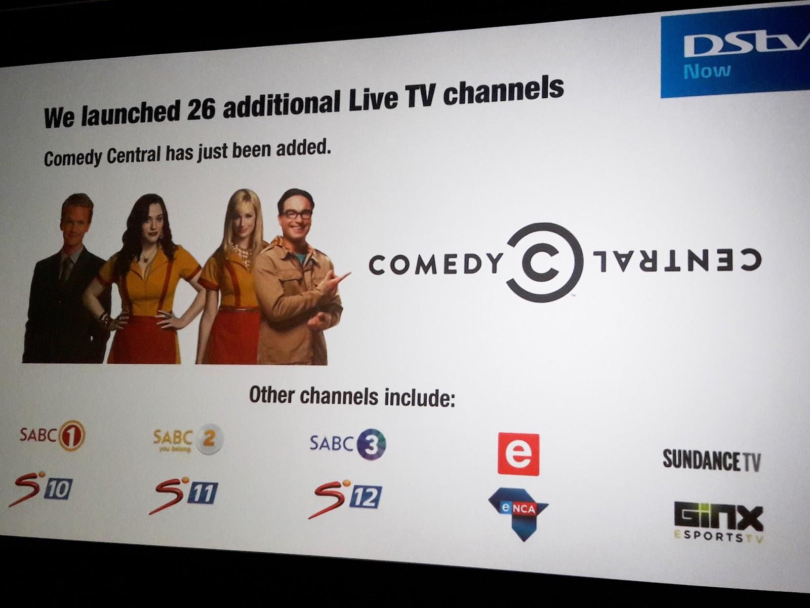 TV with Thinus: DStv SHOWCASE SEPTEMBER 2017: DStv Now