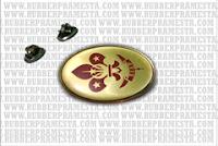 PIN KUNINGAN RESIN LICAL | PEMBUAT PIN LENCANA | PRODUKSI PIN LENCANA | PIN LENCANA MILITERY