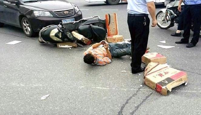 Pertolongan pada korban kecelakaan kendaraan