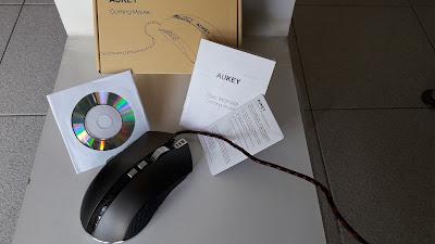 Mouse gaming AUKEY in Titanio elegante sobrio: Recensione