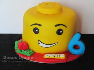 Um aniversário Lego