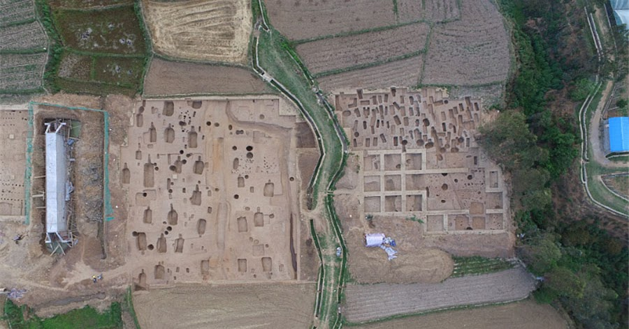 Large scale ruins found in Sichuan