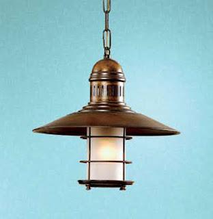 lampara de techo colonial