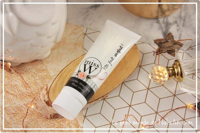 crème magique naturelle et hydratante Miss W
