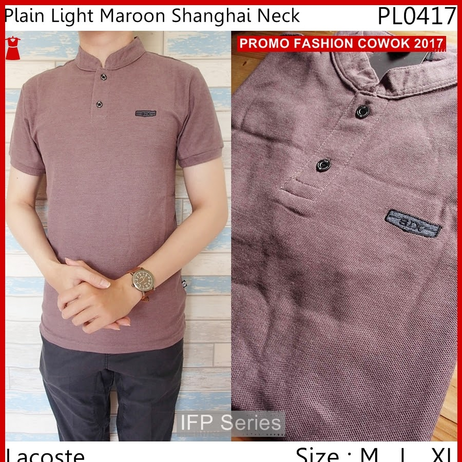 BIMFGP009 Shanghai Kaos Polo Fashion Pria PROMO