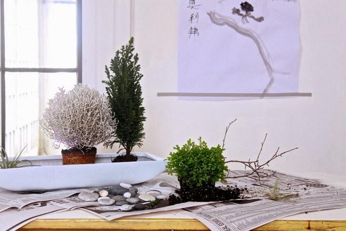 Jardín Zen de escrtorio