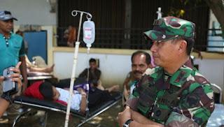 TNI Berangkatkan Satgas Kesehatan