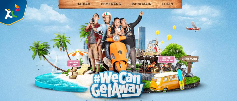 Cara Gratis Liburan Bareng XL #WeCanGetAway