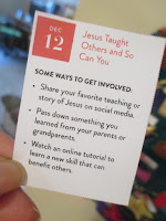 Dec 12: Jesus Taught Others and So Can You