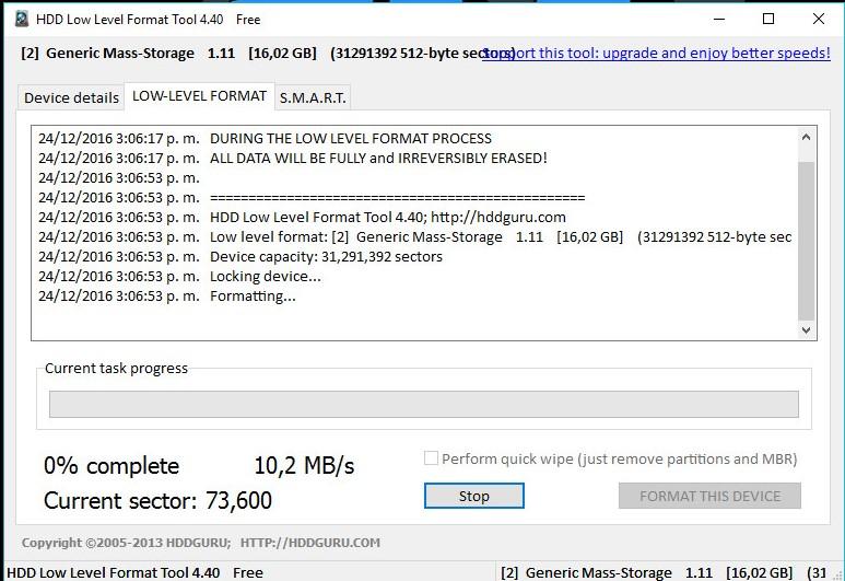 Recuperar la capacidad real de tu memoria USB 0 bytes | tecnomike92