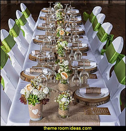 Rustic Romance DIY Head Table