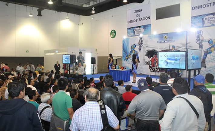 Las demostraciones estarán abiertas a todos los visitantes de la exposición, la cual es gratuita y espera recibir a miles de expertos y directivos de empresas relacionadas con la reparación automotriz provenientes de diversos estados de la república mexicana e incluso del exterior. (Foto: Cotesía Cesvi)