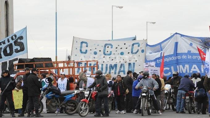 Con cortes y marchas, arrancan las paritarias en Tucumán