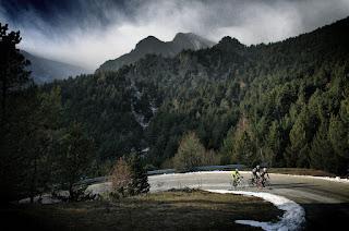 cycling Vallter 2000 Pyrenees