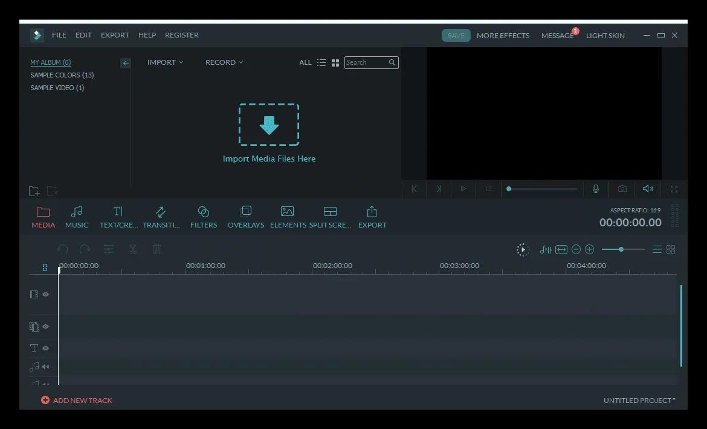 Wondershare Filmora 9.0.8.2 Version complète
